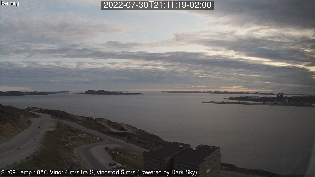 Webcam Nuuk / Grönland